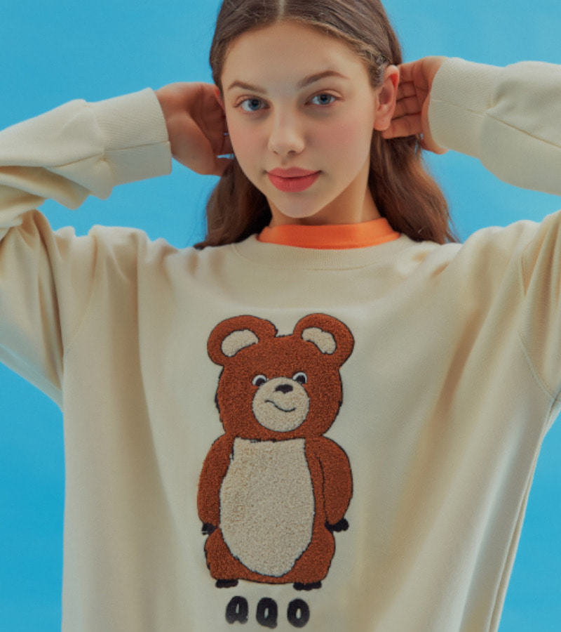 [AQO BEAR T-SHIRTS BLACK][AQO BEAR T-SHIRTS ORANGE]